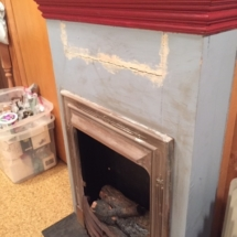Cool old fireplace