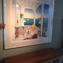 """Martha's Vineyard 1991"" Limited Edition Serigraph by Thomas Frederick McKnight. 34""x38"""