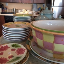 Vintage Pottery Barn dishes