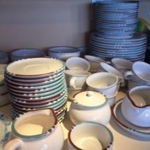 "Large set of Dansk ""Mesa"" dinnerware- in beautiful condition"