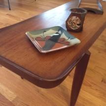Unique mid century coffee table