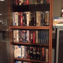 Huge library of VHS movies