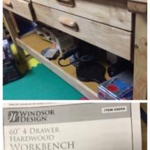 "Windsor Design 60"" Workbench"