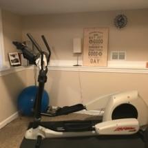 $800 Life Fitness 5500 HR Elliptical.