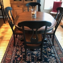 Bemex dining table/chairs