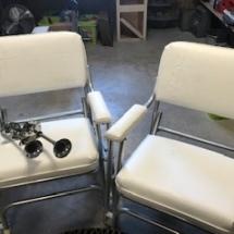 Garelick Eez-In boat deck chairs