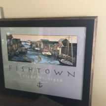Signed copy by local artist Jim DeWildt