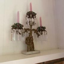 Pair of Victorian candelabras