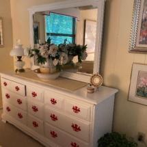 Bedroom set by Heywood Wakefield painted