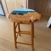 Ruth Conklin stool