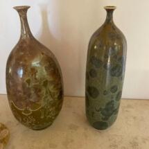 Crystallized vases