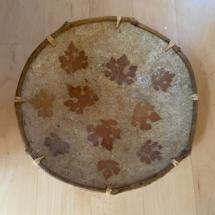 Large paper mache bowl