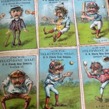 Victorian soap cards