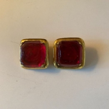 Vintage earrings - Paris, France Frances Paticky Stein