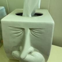 Fitz and Floyd rare ceramic tissue box