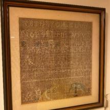 Antique Cross stitch 1812