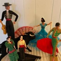 Vintage Marin Chicano dolls