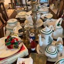 Lots of Christmas Spode