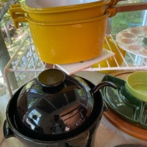 Yellow pot - vintage Dansk