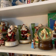 Nice collection of musical snow globes