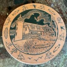 Frankoma pottery lighthouse piece