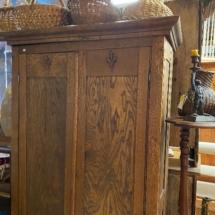 Oak armoire
